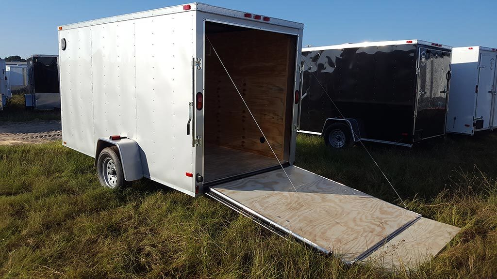 6x12 diamond Enclosed Trailers