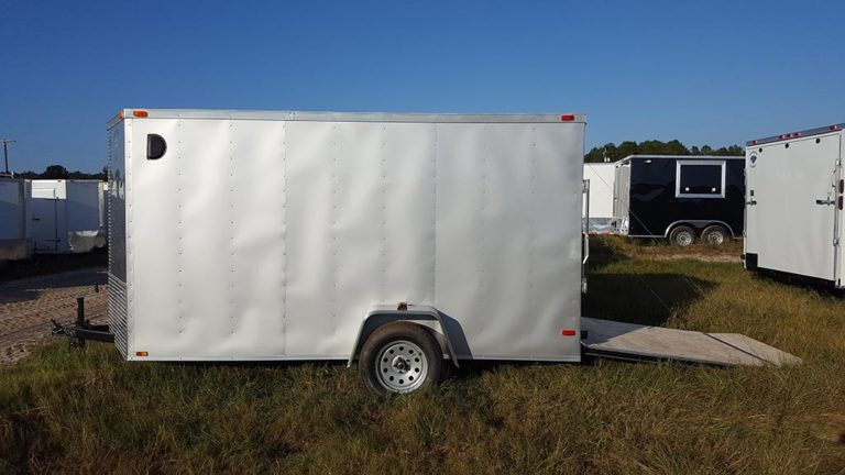 6 X 12 V Nose Cargo Trailer Guaranteed Lowest Prices