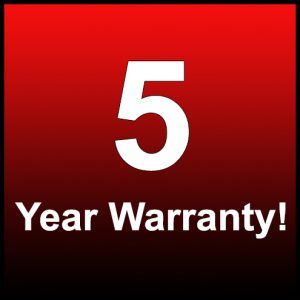 5 Year Warranty - diamond cargo