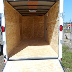 6x12 Tandem Axle Enclosed Trailer