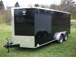 7x16 Enclosed Trailer