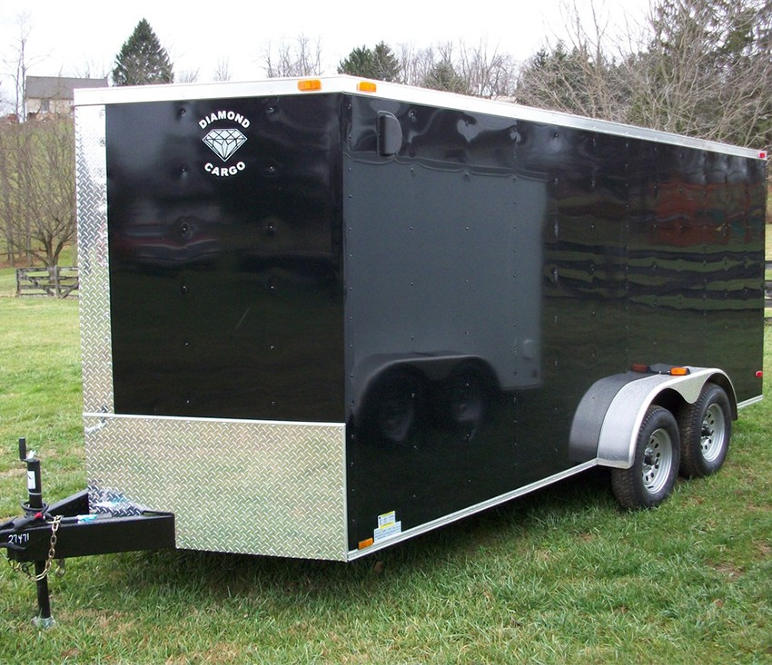 7' x 16' black diamond rolling vault
