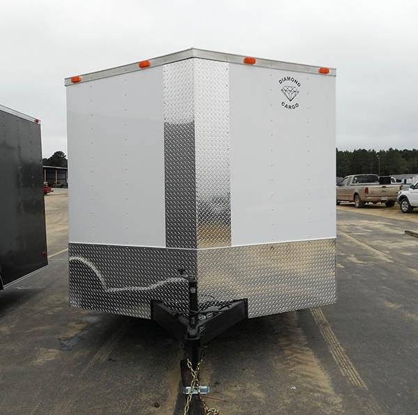8 5 X 24 Tandem Axle V Nose Cargo Trailer Guaranteed