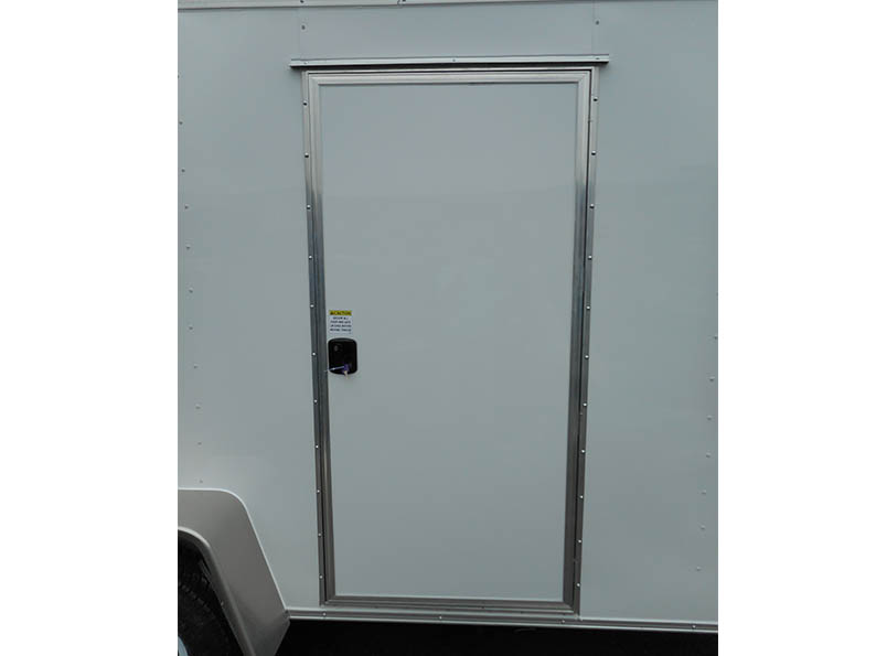 diamond cargo 7x16 side door detail