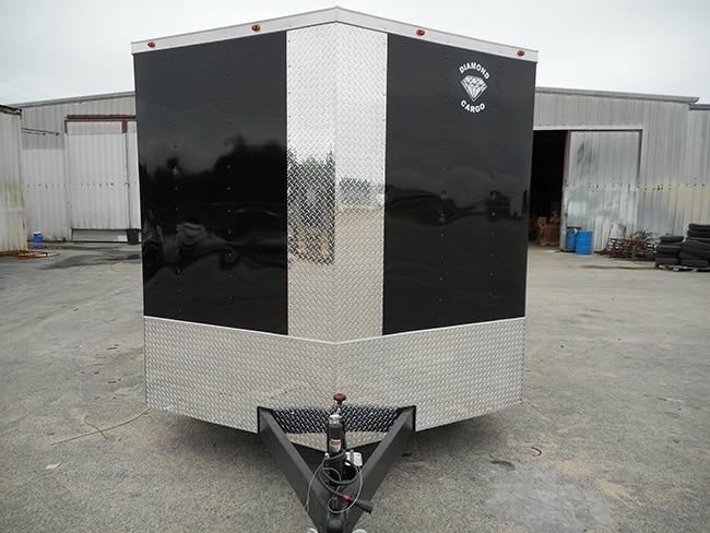 8 5' x 20' Tandem Axle V Nose Cargo Trailer