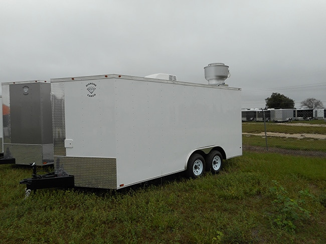 8 5 X 20 Tandem Axle V Nose Cargo Trailer Guaranteed