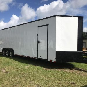 8.5x34 Enclosed Trailer